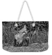 Itchy Monochrome Weekender Tote Bag
