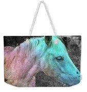 It's 1970 And I Want A Groovy Rainbow Pony Weekender Tote Bag