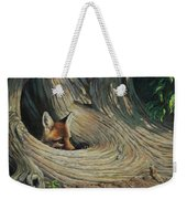 Fox - It's A Big World Out There Weekender Tote Bag