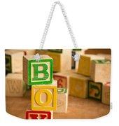 Its A Boy Weekender Tote Bag