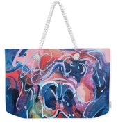 It's A Doggy Dog World Weekender Tote Bag