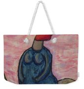 It's A Little Chilly Out Weekender Tote Bag
