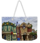 It's A Toontown Christmas Weekender Tote Bag