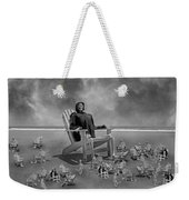 It's All In Black And White Weekender Tote Bag