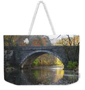 It's Autumn At The Valley Green Bridge Weekender Tote Bag