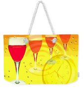 Its Five O'clock Somewhere Weekender Tote Bag