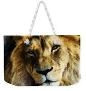 Its Good To Be King Portrait Illustration Weekender Tote Bag