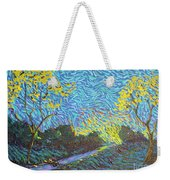 It's Just Over The Hill Weekender Tote Bag