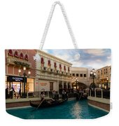 It's Not Venice - Gondoliers On The Grand Canal Weekender Tote Bag