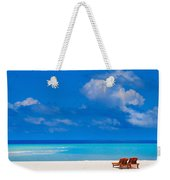 Its That Simple Weekender Tote Bag by Jenny Rainbow