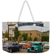 Its The Climate For A Cruise Weekender Tote Bag