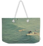 It's The Ride Weekender Tote Bag by Laurie Search