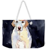 It's Your Birthday Weekender Tote Bag by Molly Poole