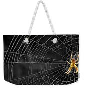 Itsy Bitsy Spider My Ass 3 Weekender Tote Bag by Steve Harrington