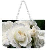 Ivory Rose Bouquet Weekender Tote Bag