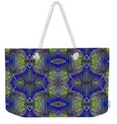 Ivy Abstract 1 Green Blue Weekender Tote Bag