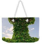 Ivy Covered Cross Weekender Tote Bag