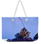 Iwo Jima Memorial At Dusk Weekender Tote Bag
