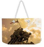 Iwo Jima Memorialized Weekender Tote Bag
