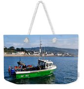 J B P Leaving The Harbour Weekender Tote Bag