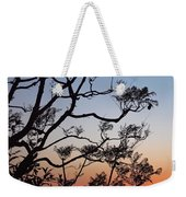 Jacaranda Sunset Weekender Tote Bag by Rona Black