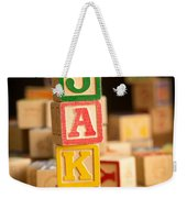 Jake - Alphabet Blocks Weekender Tote Bag