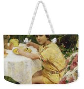 Jack In The Garden Weekender Tote Bag by Giacomo Grosso