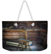 Jack London's Log Cabin Weekender Tote Bag