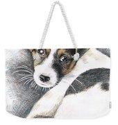 Jack Russell Puppy Weekender Tote Bag