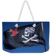 Jack Sparrow Pirate Skull Flag Weekender Tote Bag