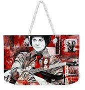 Jack White Weekender Tote Bag by Joshua Morton