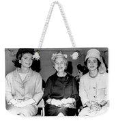 Jackie Kennedy At Luncheon Weekender Tote Bag