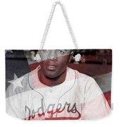 Jackie Robinson Weekender Tote Bag