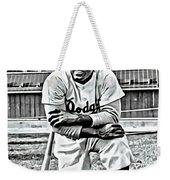 Jackie Robinson Painting Weekender Tote Bag