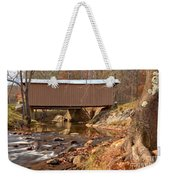 Jacks Creek Bridge Over Smith River Weekender Tote Bag