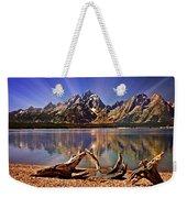 Jackson Lake Mt. Moran Weekender Tote Bag