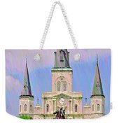 Jackson Square In The French Quarter Weekender Tote Bag