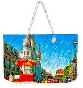 Jackson Square Painted Version Weekender Tote Bag