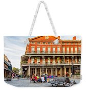 Jackson Square Reading Weekender Tote Bag