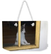 Jackson The Inquisitive Kitty Weekender Tote Bag