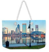 Jacksonville Across The St Johns River Weekender Tote Bag