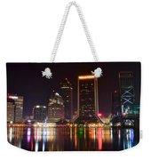 Jacksonville Night Weekender Tote Bag