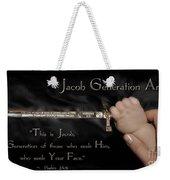 Jacob Generation Weekender Tote Bag