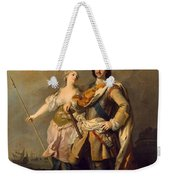 Peter I With Minerva With The Allegorical Figure Of Glory Weekender Tote Bag