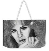 Jacqueline Bisset In 1983 Weekender Tote Bag by J McCombie