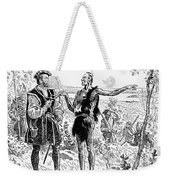 Jacques Cartier (1491-1577) Weekender Tote Bag