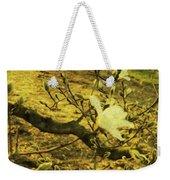 Jade Orchid Weekender Tote Bag