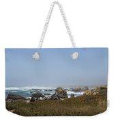 Jagged California Coastline Weekender Tote Bag