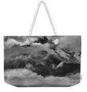 Jagged Peaks Glaciers And Storms Weekender Tote Bag