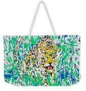 Jaguar - Enamels Painting Weekender Tote Bag